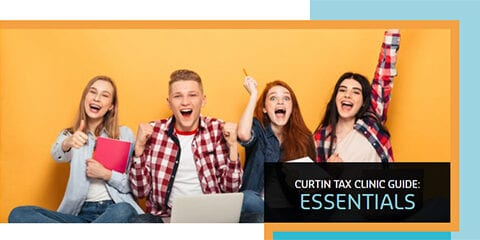 Young tax students